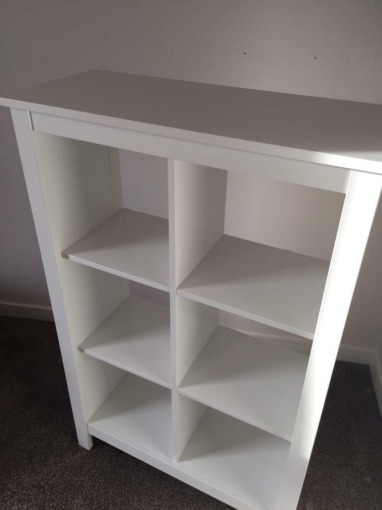 nearly new white shelving unit ikea tomm s in edinburgh gumtree. Black Bedroom Furniture Sets. Home Design Ideas