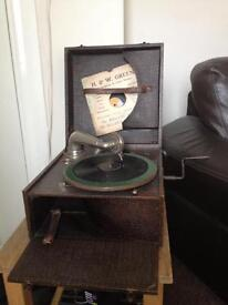 Paths 1915 record player