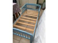Blue Toddler Bed £10 ono