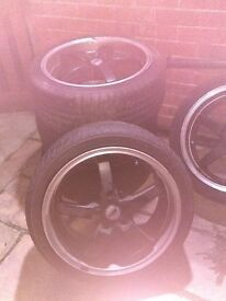 "Tsw 18"" alloys"