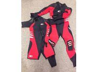 Ladies Northern Diver Deltaflex Semi Tech Wetsuit, size L
