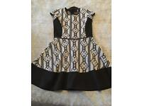 Stunning girls River Island dress age 9-10