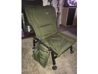 Mint Dragon Carp Fishing Chair with Side Kit Holder - Great Fishing Chair