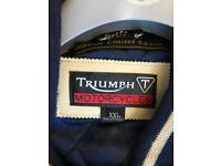 Motorcycle jacket size XXL