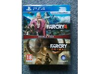 PS4 farcry double pack -new & sealed-
