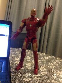 IRON MAN tall figure - lights and speach