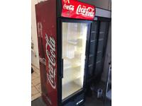 Coca Cole commercial drinks fridge