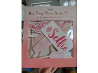 Classy GINGER RAY hen Party photo booth props- can also be used for wedding