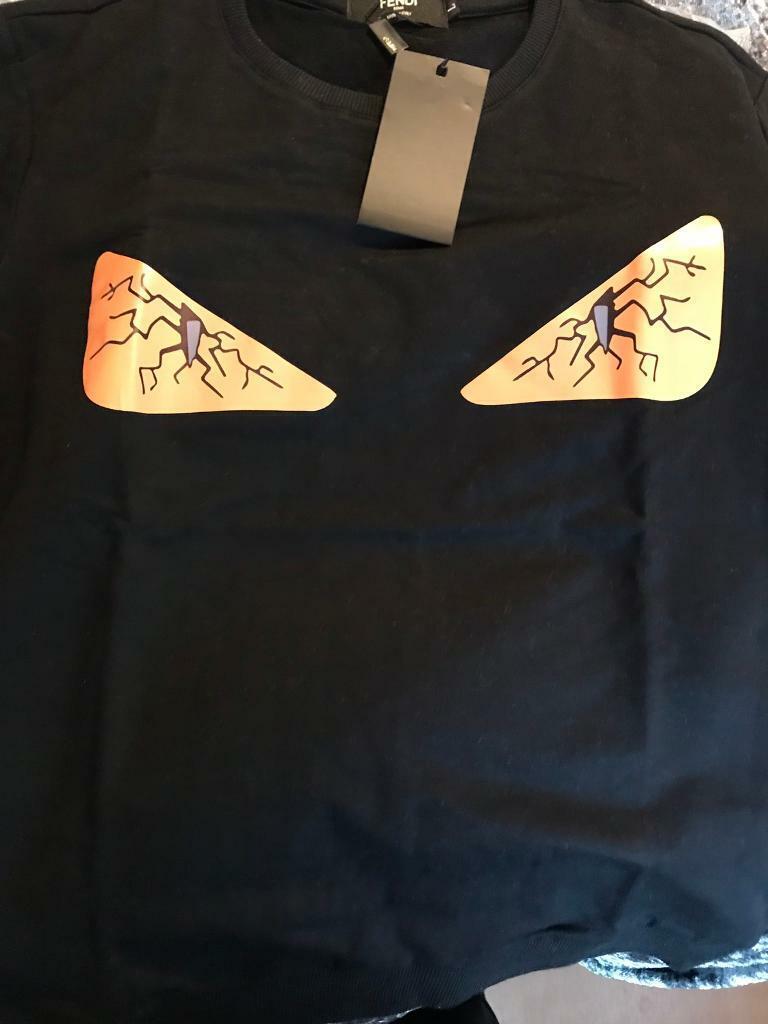 a5184abdd433 Fendi Bug Eyes Sweatshirt. Heathrow ...