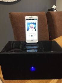 Acoustic solutions docking station/speakers
