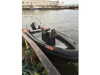 Boat RIB 140hp