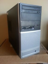 Asus V3 PC System or tower, Intel Dual Core, 4GB RAM, 500GB HDD, Intel HD, Windows 10, Office