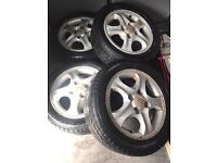 "15"" Hyundai alloys"