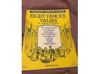 Eight famous valses