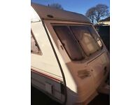 4 BERTH, TWIN AXLE CARAVAN