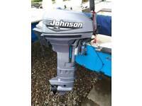 15hp 2 stroke johnson outboard engine
