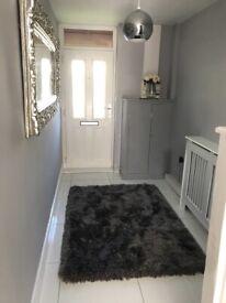 White polished porcelain floor tiles 600mm x 600mm