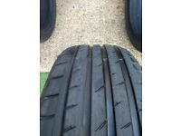 225 45 18 Tyre with 8mm Tread in West London Area