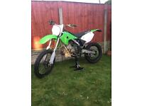 Kx 125 08 road legal ( kx125 ktm cr yz rm)