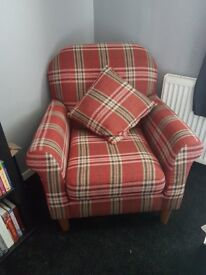Lovely Next Armchair ,Excellent condition no room for it .