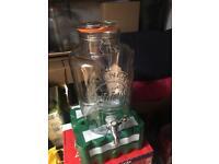 2 x Kilner Jars (8 litres with tap)