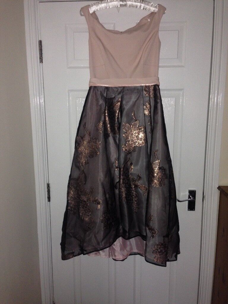 Gorgeous pink, silver, rose coast dress size 12 | in Lymm ...