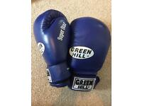 14.oz Green Hill Boxing Gloves