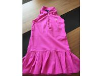 Girls Ralph Lauren polo dress, pink age 6, gorgeous for summer