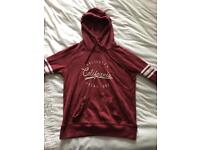 Red Hollister Hoodie XS