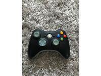 Xbox 360 Controller - Black (Wireless).