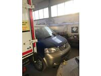 Vw/Volkswagen/transporter/caravelle/front bumper/grill/headlights/Bonnet/front-end/Breaking