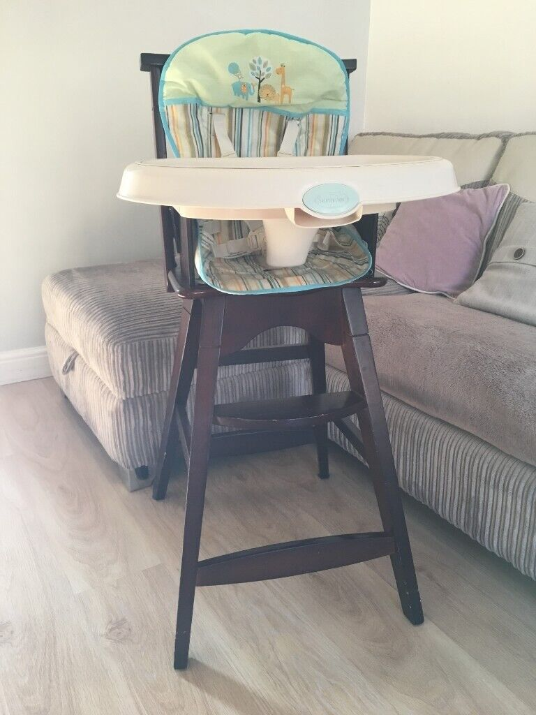 Summer Infant Baby Wood High Chair Used In London Gumtree