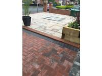 Fencing decking block paving groundworks turf