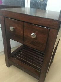 Solid wood small cabinet in great condition