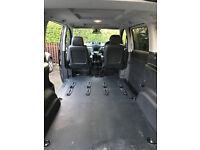 Mercedes breaking W639 Vito Dualiner Rear Floor Liner Boot Mat Carpet for Compact Short Wheelbase