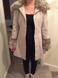 Ladies Miss Selfridge Coat Size 8
