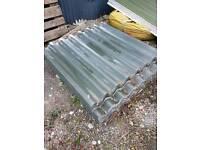 Big six fibre cement roof garage shed sheets
