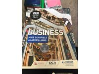 OCR GCSE 9-1 third edition business revision book