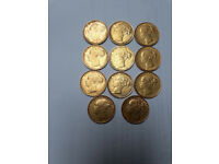 gold sovereings