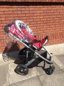 Uppababy and Maxicosi travel system