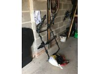 HALFORDS HIGH MOUNT 3 X CYCLE BIKE CARRIER USED ONCE