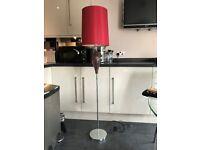 Next red standard lamp