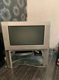 TV and stand FREE