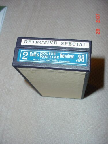 Colt  Detective Special  .38 Cal.  Box and paperwork
