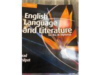IB English language and literaturw