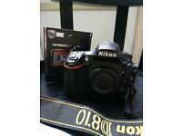 Nikon D810 3Years warranty 50mm 1,4f lens and battery grip