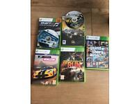 Xbox 360 games & headset
