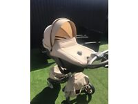 Stokke Xplory pushchair + many accessories