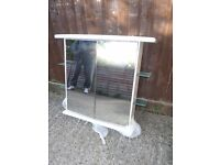 LARGE BATHROOM CABINET - 800 mm high x 700 mm wide.