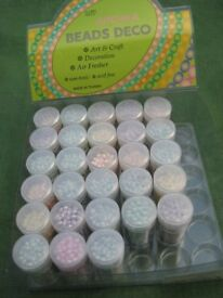 28 My Aroma Beads Deco Containers 5 for £2.00